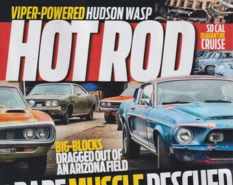 Hot Rod December 2020 Rare Muscle Rescued   (Magazine: Cars, Automotive)