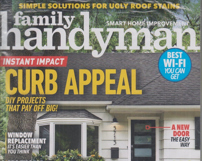 The Family Handyman March 2020 Instant Impact Curb Appeal  DIY Projects That Pay (Magazine: DIY, Home Improvement)