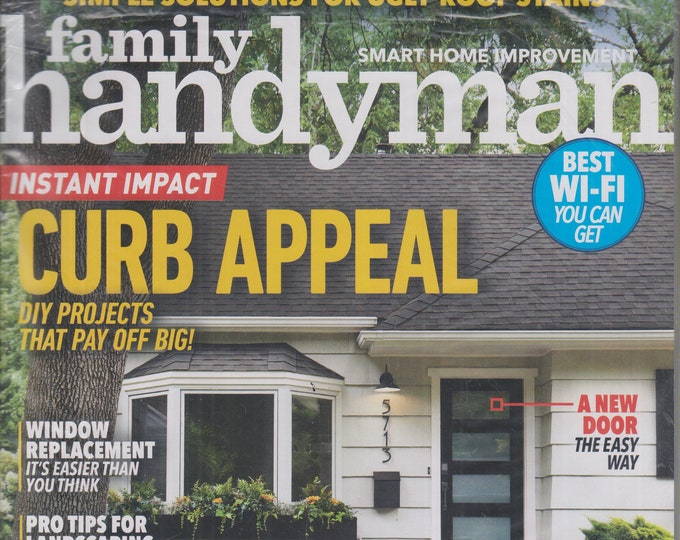 The Family Handyman March 2020 Instant Impact Curb Appeal  DIY Projects That Pay Off Big! (Magazine: DIY, Home Improvement)