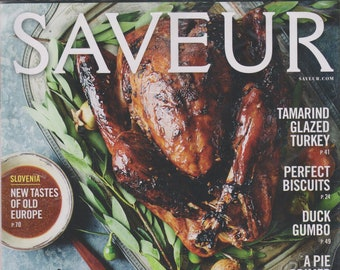 Saveur November 2015 Ahh... Thanksgiving (Magazine: Food and Drink, Recipes)