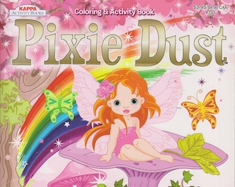 Coloring Book Set - Pixie Dust and Purple Turtle Big Time Fun (Softcover: Children's)  2013/16