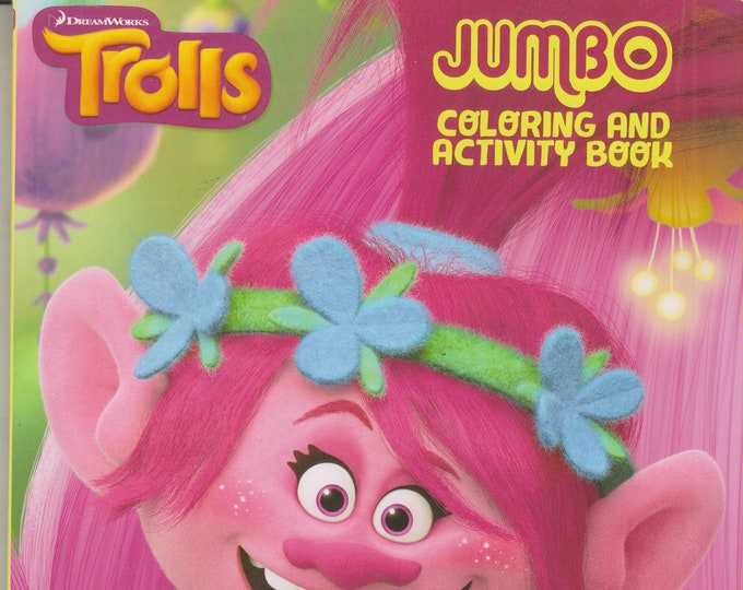 Trolls Jumbo Coloring and Activity Book - Have a Poppy Day! (Coloring Book: Trolls) 2016