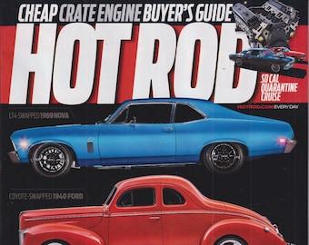 Hot Rod June 2021 Three of a Kind 1969 Nova, 1940 Ford, 1967 Belvedere (Magazine: Cars, Automotive)