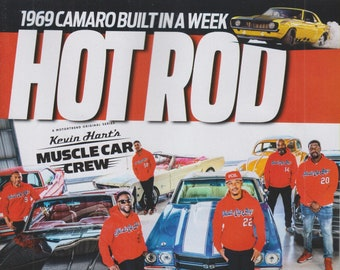 Hot Rod September 2021 Built to Drive, Kevin Hart's Muscle Car Crew  (Magazine: Cars, Automotive)