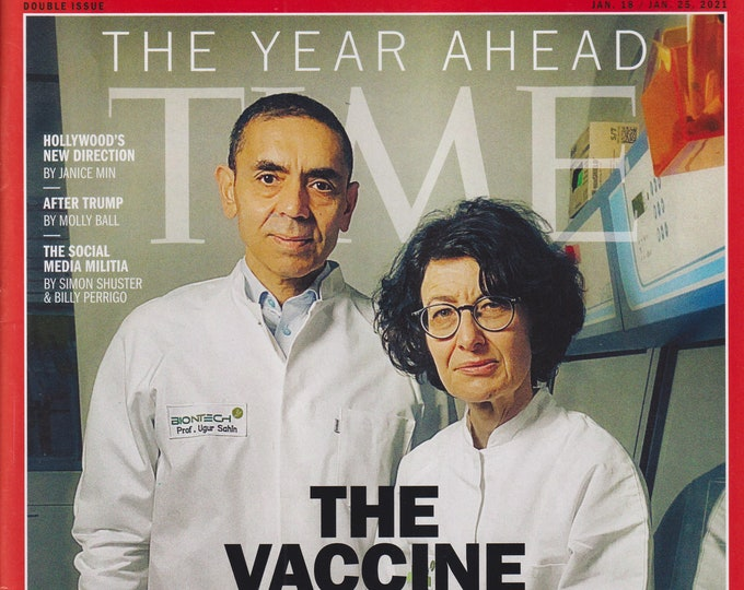 Time January 18-25, 2021 The Vaccine Revolution  (Magazine: Current Events, News)