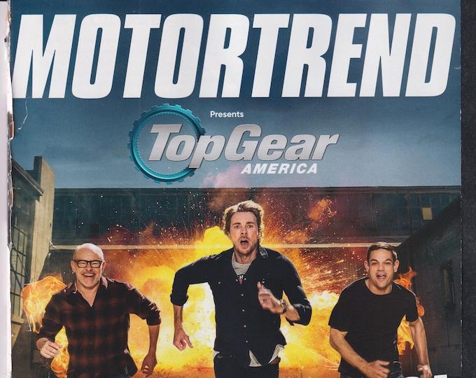 Motor Trend March 2021 Top Gear America  (Magazine: Automotive, Cars)