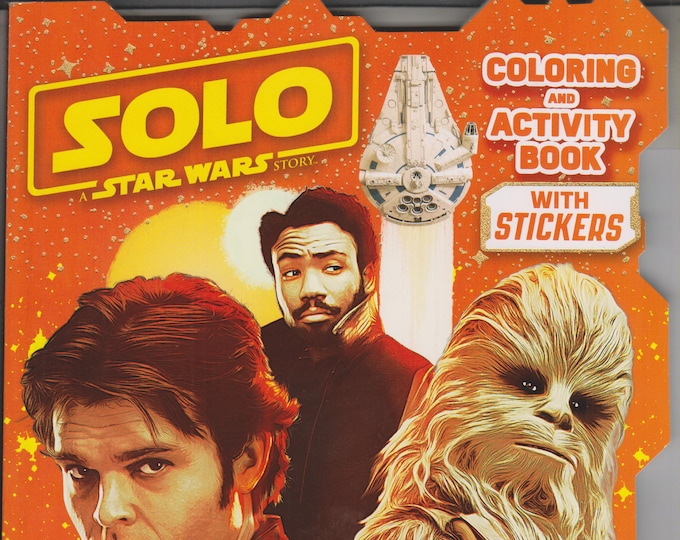 Solo A Star Wars Story Coloring and Activity Book With Stickers (Paperback: Star Wars, Coloring Book) 2018