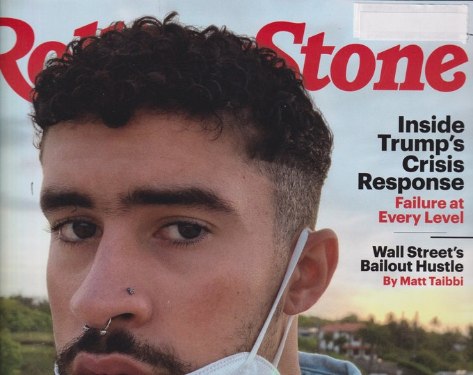 Rolling Stone June 2020 Latin Pop  Superstar Bad Bunny (Magazine: Music, Commentary)