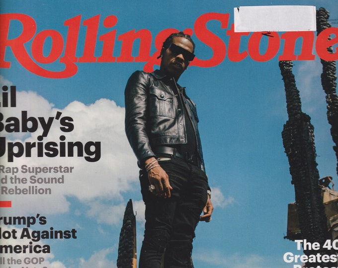 Rolling Stone August 2020 Lil Baby's Uprising  (Magazine: Music, Commentary)