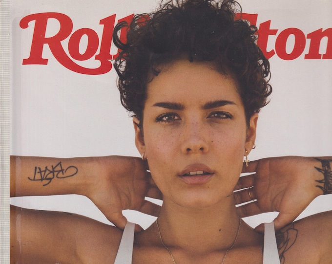 Rolling Stone July 2019 Halsey - The Hot Issue (Magazine: Movies, TV, Music, Books, Celebrities)