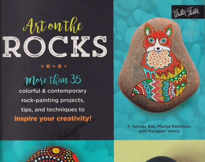Art on the Rocks (Softcover: Art Instructions, Art, Hobby, Crafts)  2017