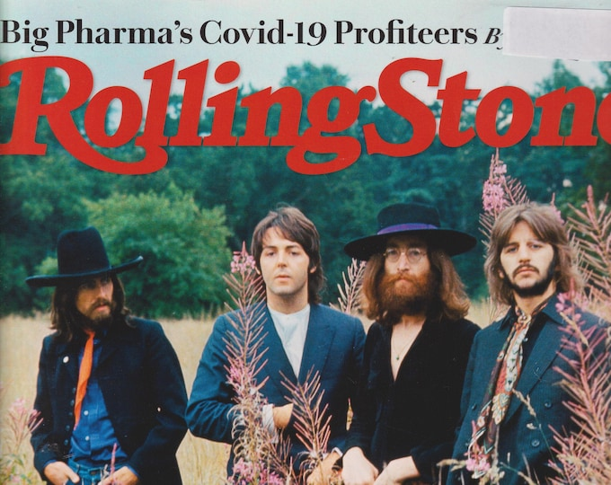 Rolling Stone September 2020 The End of the Beatles  (Magazine: Music, Commentary)
