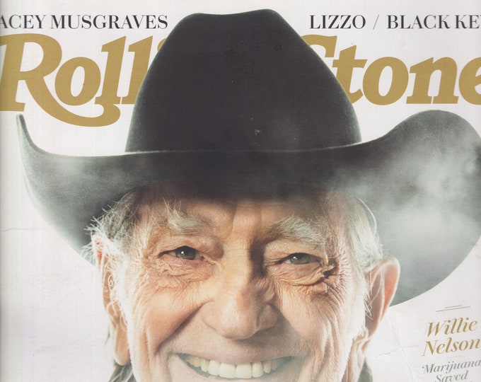 Rolling Stone May 2019 Willie Nelson - The Weed Issue  (Magazine: Movies, TV, Music, Books, Celebrities)
