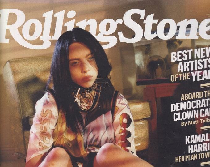 Rolling Stone August 2019 Billie Eilish - Triumph Over the Weird (Magazine: Movies, TV, Music, Books, Celebrities)