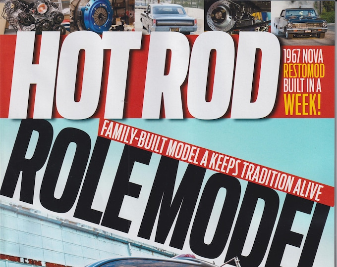 Hot Rod March 2021 Role Model Family Built Model A Keeps A Tradition Alive  (Magazine: Cars, Automotive)