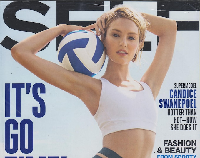 Self March 2015 Candice Swanepoel  - It's Go Time!  (Magazine Mind, Body, and Spirit)