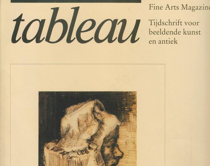 Tableau September 1990 Fine Arts Magazine Tijdschrift Voor Beeldende Kunst En Antiek  (Magazine: Fine Art  in  Dutch)  1990