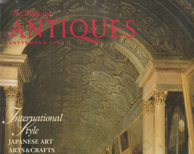 The Magazine Antiques September 1991 International Style (Magazine: Antiques)