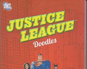 DC Comics Justice League Doodles - Amazing Adventures to Complete and Create (Softcover: Children's, Art, DC Comics)