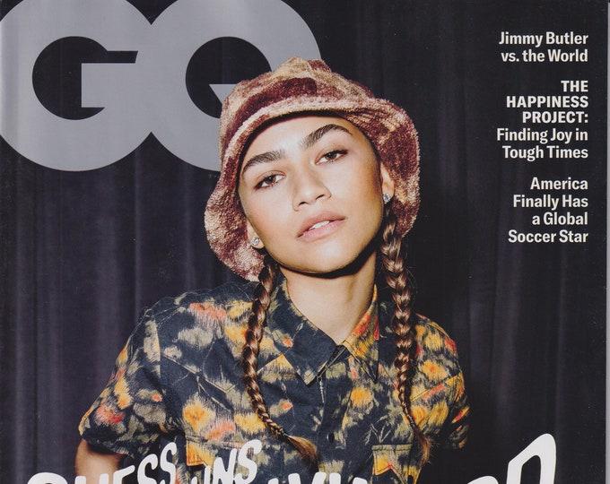 GQ  February 2021 Zendaya. Guess Who Runs Hollywood Now? (Magazine: Men's, General Interest)