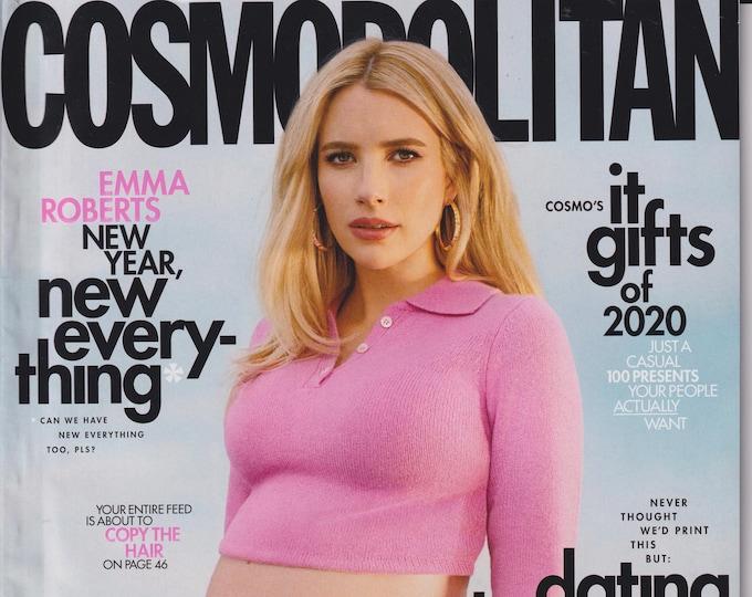 Cosmopolitan December 2020 January 2021 Emma Roberts - New Year, New Everything  (Magazine: Women's)