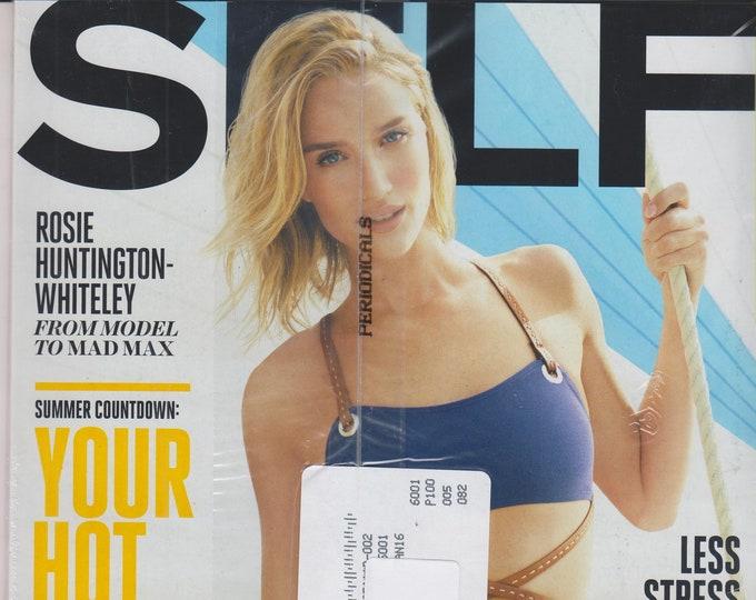 Self May 2015 Rosie Huntington - Whiteley  - Your Hot Body Plan (Magazine Mind, Body, and Spirit)
