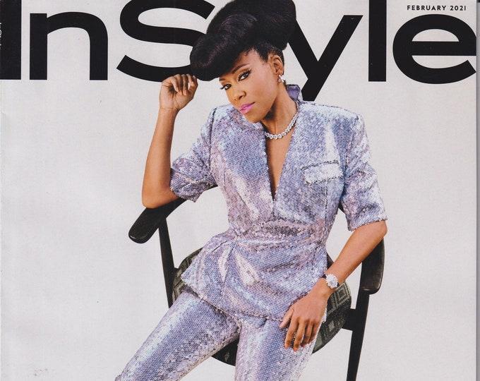 In Style February 2021 Regina King - The Badass Women Issue (Magazine: Fashion)