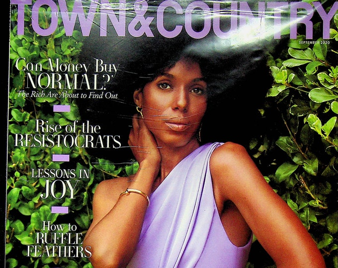 Town & Country September 2020 Kerry Washington Wants You To Know the Truth (Magazine: General Interest)