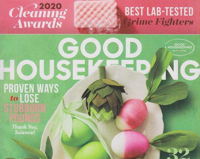 Good Housekeeping April 2020 Spring! 32 Fresh Dinner Ideas  (Magazine: Home & Garden)