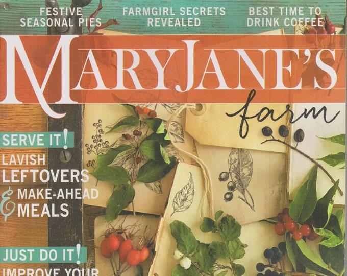 Mary Jane's Farm October November 2021 Hitting the Hay (Magazine: Sustainable Living,  Organic Gardening)