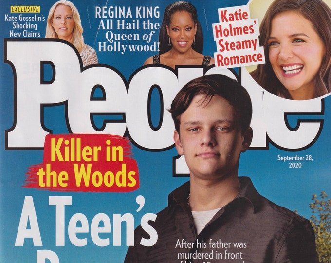 People September 28, 2020 Jack Gershman - A Teen's Brave Escape  (Magazine, Celebrities)
