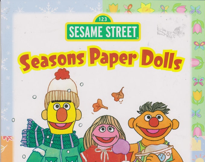 Sesame Street Seasons Paper Dolls