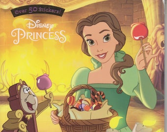 Disney Princess Happy Halloween Coloring Activities Stickers 2016