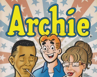 Archie Obama & Palin in Riverdale (Softcover Book: Archie, Politics) 2011