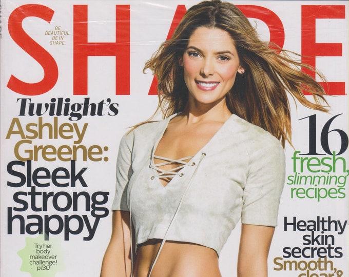 Shape April 2016 Twilight's Ashley Greene Sleek Strong Happy (Magazine: Health & Fitness)