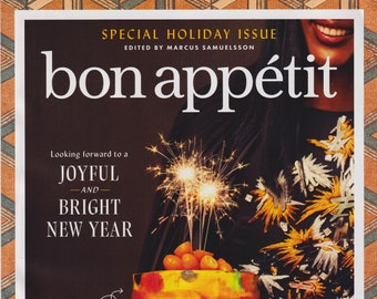 Bon Appetit December 2020 January 2021 Looking Forward To a Joyful and Bright New Year  (Magazine:  Cooking, Recipes)
