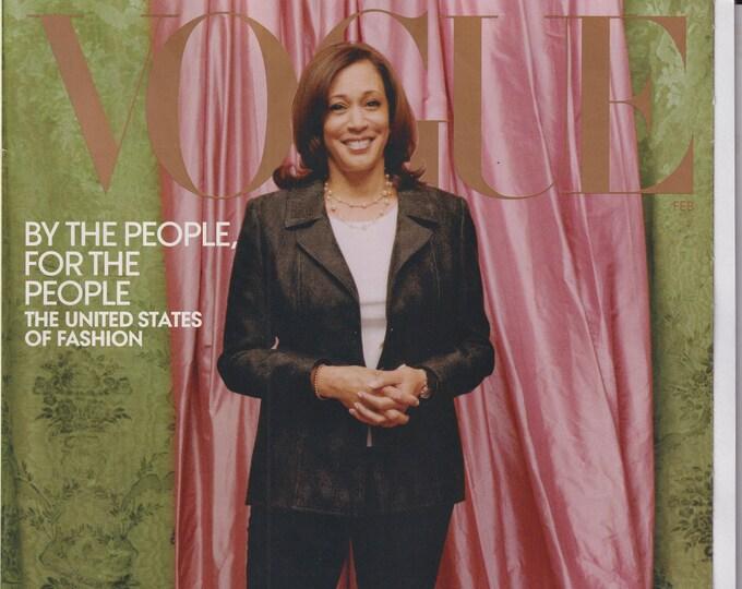 Vogue February 2021 Kamala Harris and The New America  (Magazine: Fashion)