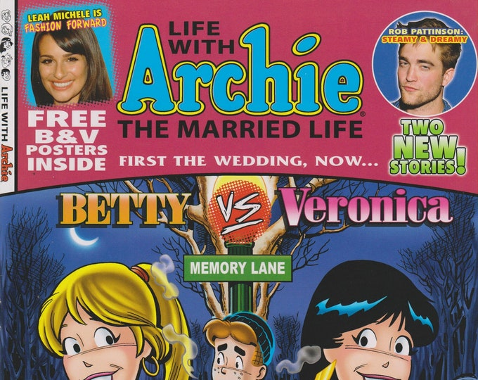 Life With Archie No. 5 First The Wedding, Now Betty vs. Veronica Memory Lane   (Comic Book: Archie) 2010