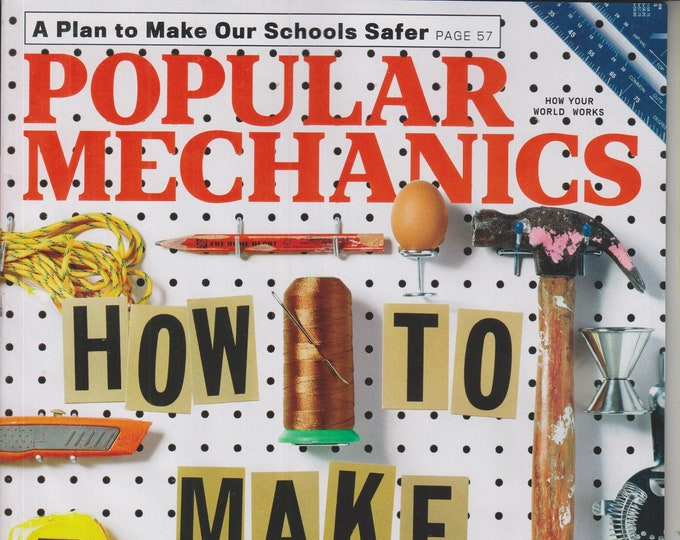 Popular Mechanics September 2018 How To Make Anything - 21 DIY Projects You Can Do