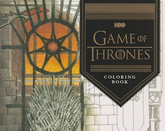 HBO's Game of Thrones Coloring Book (First Edition) (Softcover: Coloring Book, TV Series) 2016
