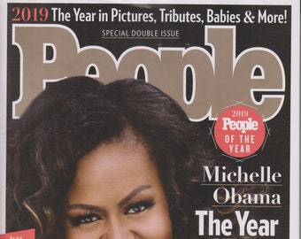 People December 16, 2019 Michelle Obama - The Year I Told My Story  (Magazine: Celebrities)