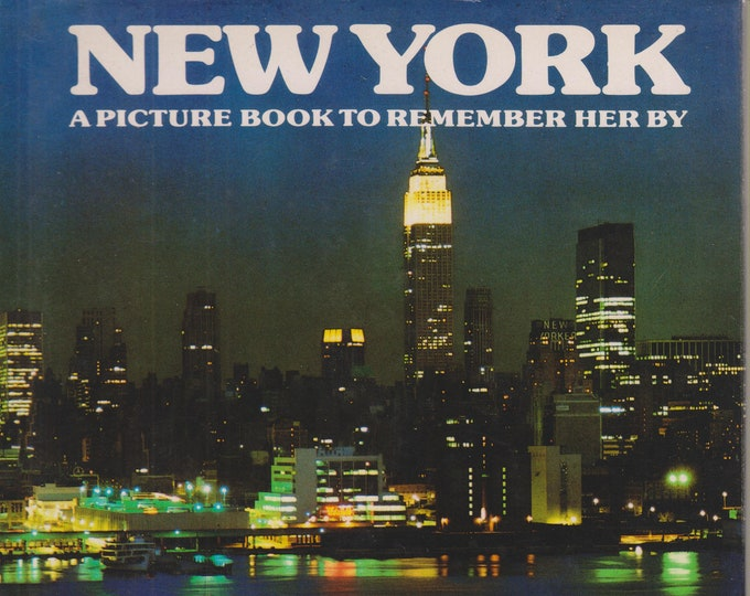New York - A Picture Book To Remember Her By  (Hardcover: Travel, Geography, United States, New York)  1978