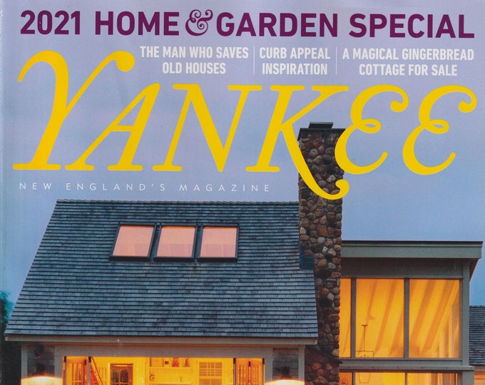 Yankee March April 2021 An Insider's Guide to Martha's Vineyard   (Magazine: New England, Travel)