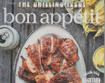 Bon Appetit June July 2020 The Grilling Issue  (Magazine:  Cooking, Recipes)