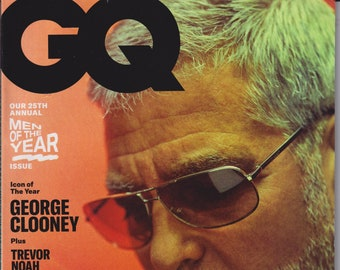 GQ  December 2020 January 2021 George Clooney - Icon of the Year  (Magazine: Men's, General Interest)
