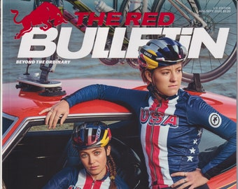 The Red Bulletin August September 2020 Kate Courtney and Chloe Dygert American Muscle Power Brokers  (Magazine:  Men's, Lifestyle)