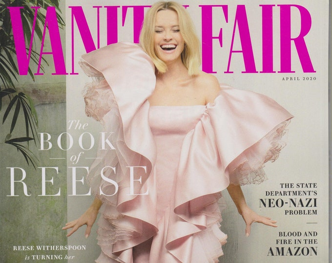 Vanity Fair April 2020 The Book of Reese Witherspoon (Magazine: General Interest)