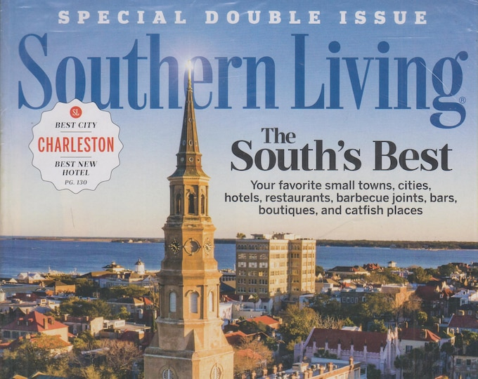 Southern Living April 2020 The South's Best Special Double Issue  (Magazine: Home & Garden)