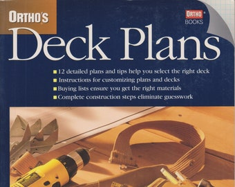 Ortho's Deck Plan  (Softcover: Decks, Home Improvements)  1998