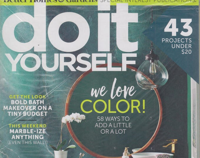 Do It Yourself Spring 2018 We Love Color - 58 Ways to Add A Little or A Lot